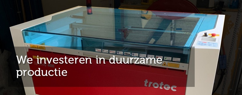 We investeren in duurzame productie