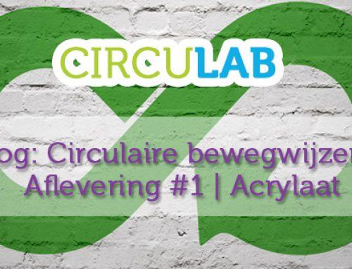 Circulaire bewegwijzering: Acrylaat
