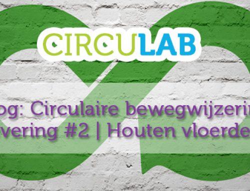 Circulaire bewegwijzering: Houten vloerdelen