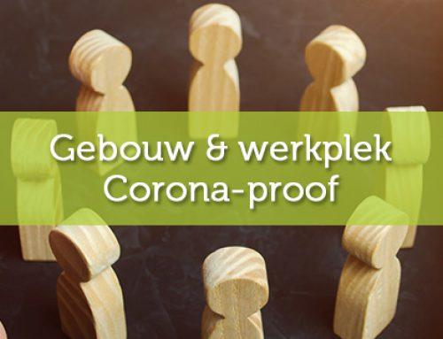 Gebouwen en werkplekken Corona-proof