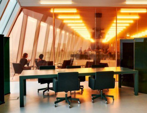 Glasfolies bij Forum Groningen