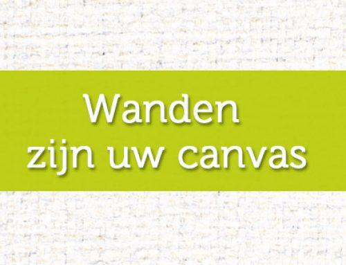 Wanden zijn uw canvas
