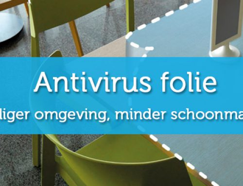 Revolutionair! Antivirus folie bewezen effectief.
